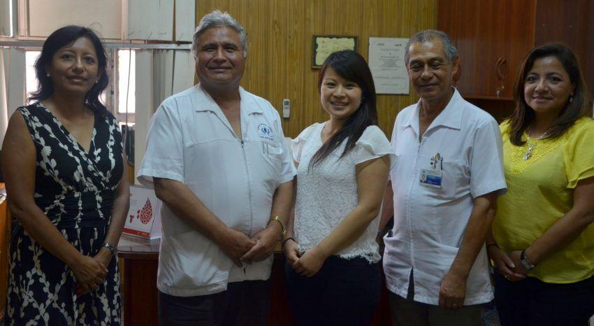 Hospital San Bartolomé recibe a voluntaria japonesa especialista en nutrición para Banco de Leche Humana