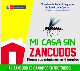 """Campaña  """" MI CASA SIN ZANCUDOS"""""""