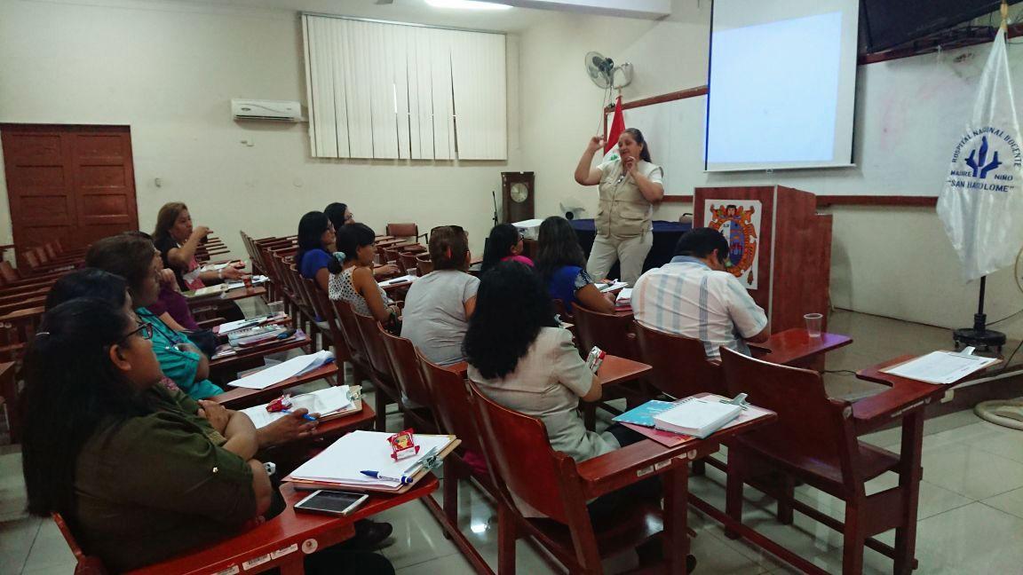 DIRIS Lima Centro refuerza plan de prevención de embarazo adolescente